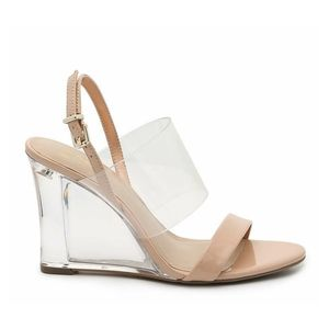 Mix No 6 Nude/Clear Wedge